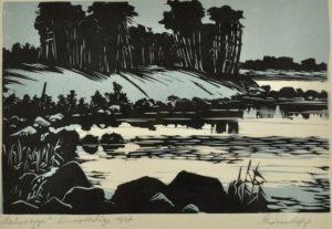 Esko Lepp Lahesopp linoollõige 1967