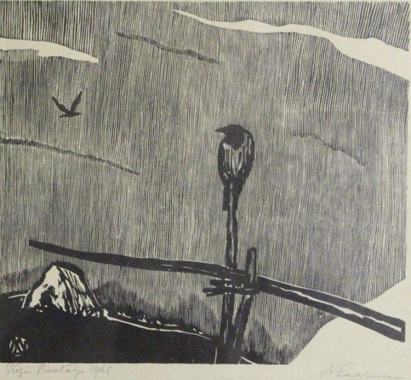 """Märt Laarman """"Sügis"""" 1966"""