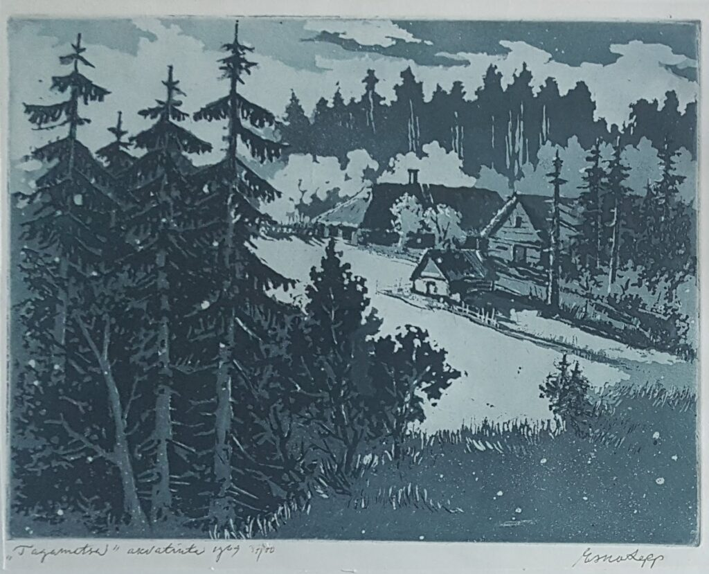 Esko Lepp Tagametsa 1969
