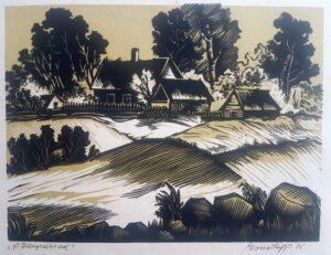 """Esko Lepp """"Põllupeenrad"""" 1975"""